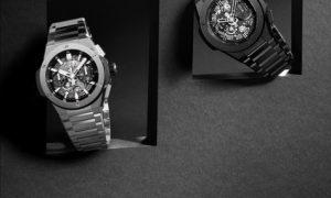 Hublot представил часы с интегрированным браслетом
